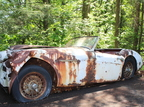Vor der Totalrestauration: Austin Healey 100/6 - , Baujahr 1957: Austin Healey 100/6